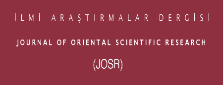 Journal of Oriental Scientific Research